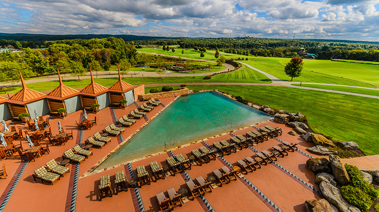 nemacolin woodlands resort falling rock infinity