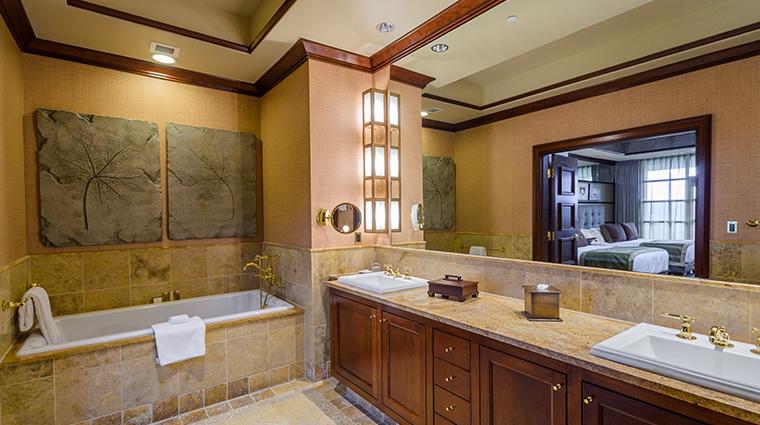 nemacolin woodlands resort falling rock suite bathroom