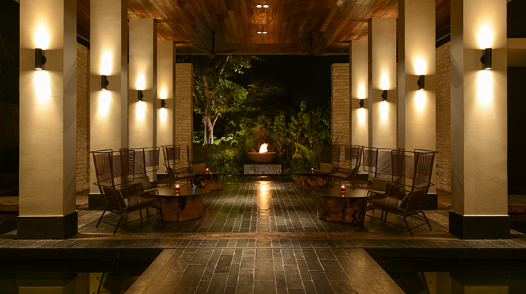 nizuc resort spa ESPA lounge area