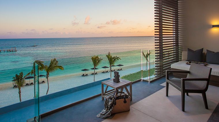 nizuc resort spa ocean suite view