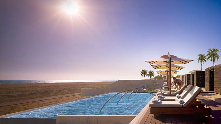 nobu hotel los cabos sunset pool