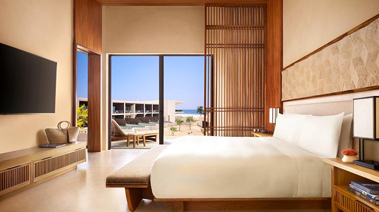 nobu hotel los cabos zen suite bedroom