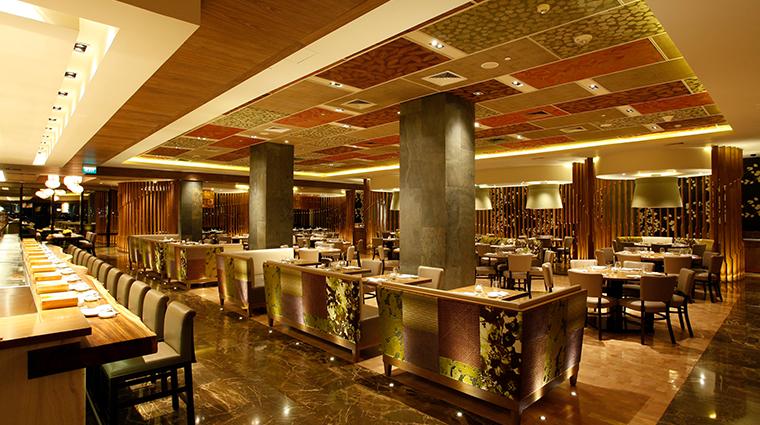 nobu hotel manila Nobu dining room2