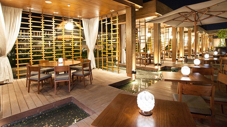 nobu hotel manila Nobu restaurant cabanas