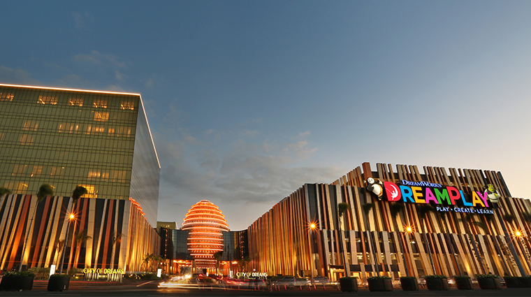 nobu hotel manila city of dreams exterior