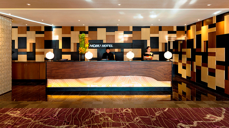 nobu hotel manila reception