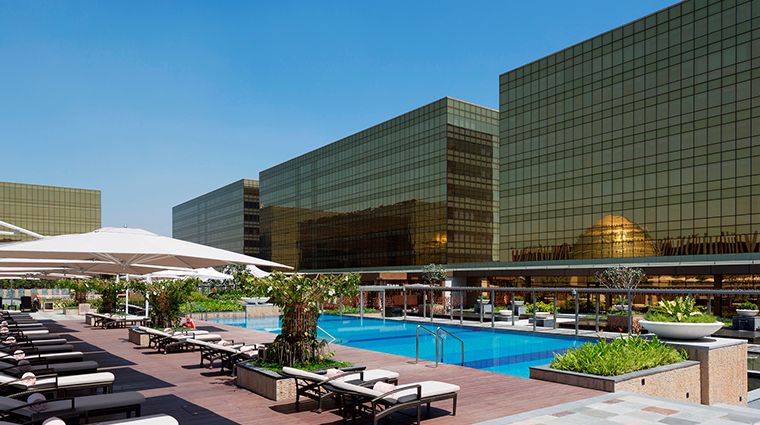 nobu hotel manila swimming pool