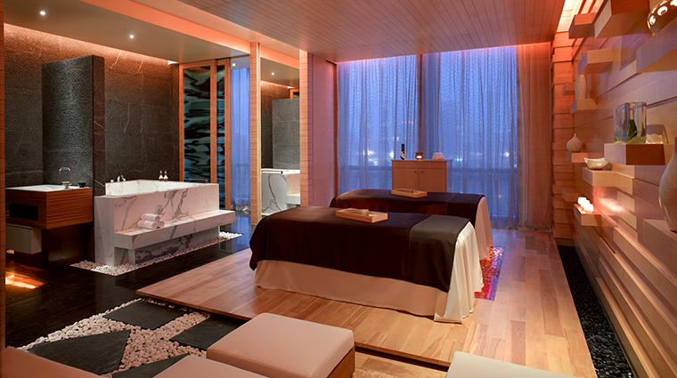 O Spa treatment room