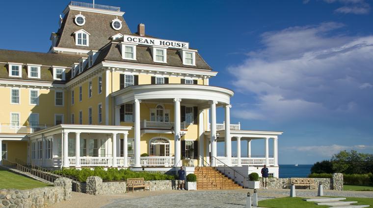 ocean house entrance