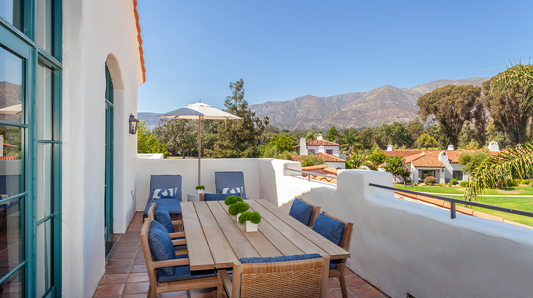 ojai valley inn Spa Penthouse Suite Moonrise Patio