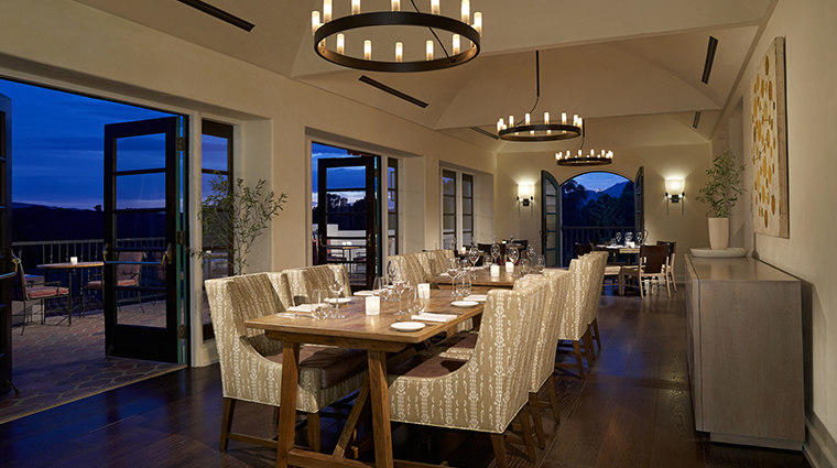 ojai valley inn spa olivella dining