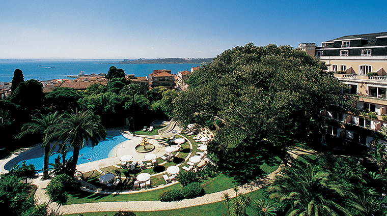 Olissippo lapa palace lisbon hotels lisbon portugal forbes travel guide for Lisbon boutique hotel swimming pool