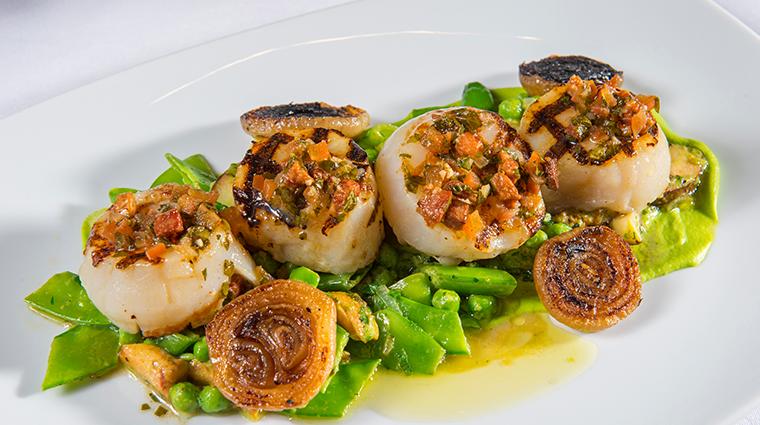 olivette grilled scallops