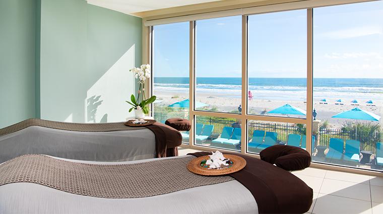 one ocean resort spa treatment room