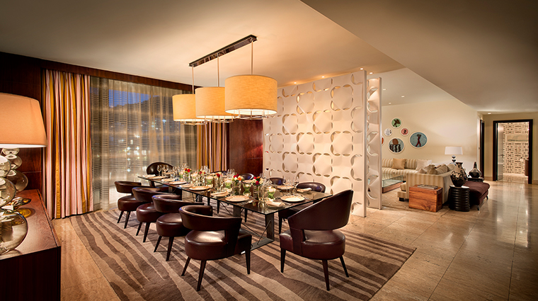 oneonly cape town presidential suite dining