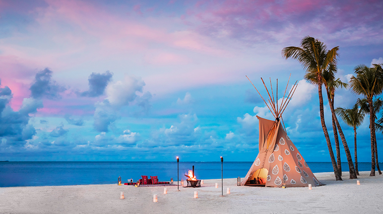 oneonly le saint geran private dining teepee