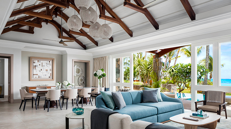 oneonly le saint geran villa living room