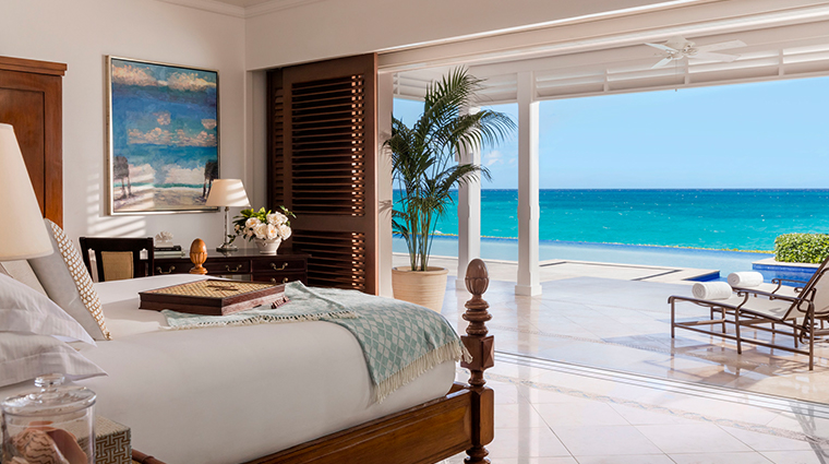 the ocean club a four seasons resort bahamas villa master bedroom