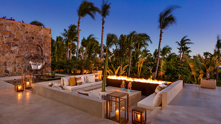 oneonly palmilla los cabos resort villa one firepit