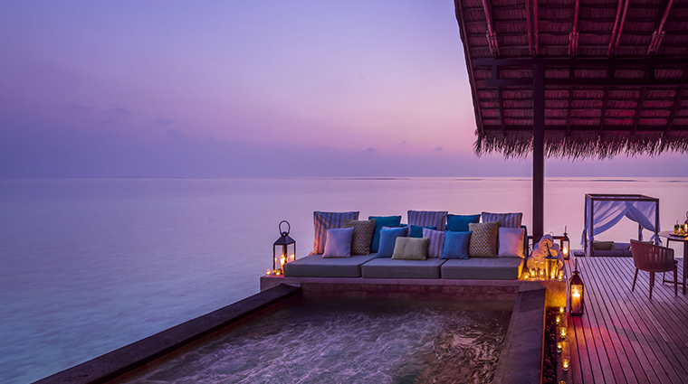 oneonly reethi rah grand water villa outdoor