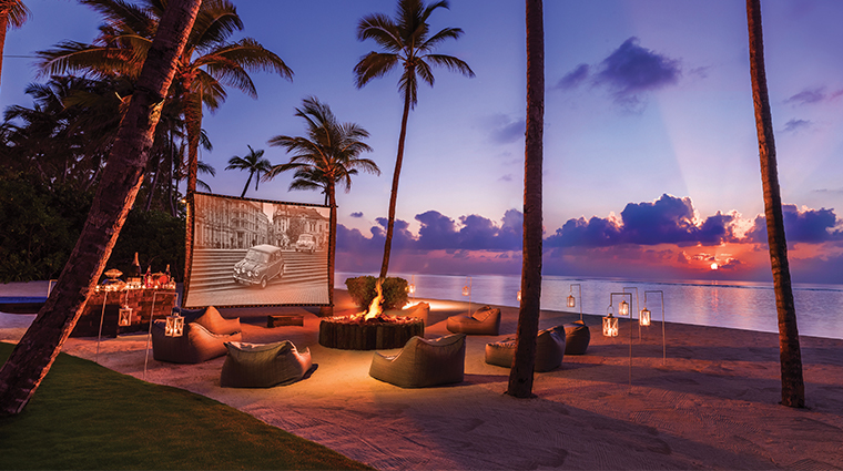 oneonly reethi rah private outdoor cinema