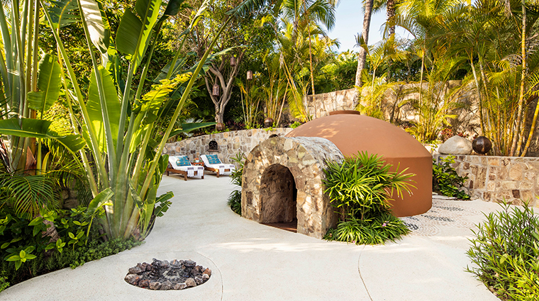 oneonly spa at palmilla Temazcal