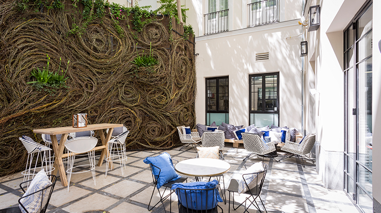 only you boutique hotel madrid sitting area