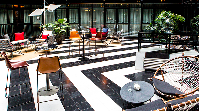 only you hotel atocha sitting area