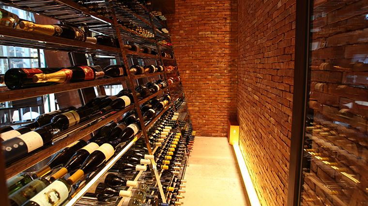 opera bombana wine cellar