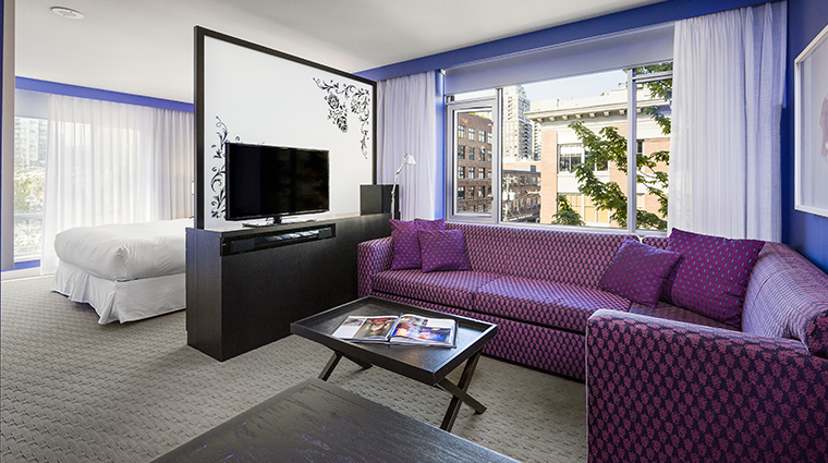 opus hotel vancouver executive suite