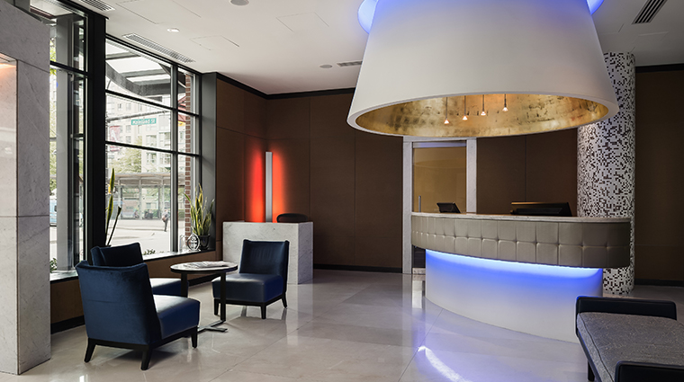 opus hotel vancouver lobby