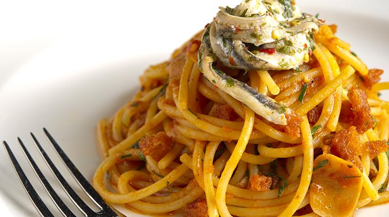 osteria mozza singapore spaghetti alla calabrese