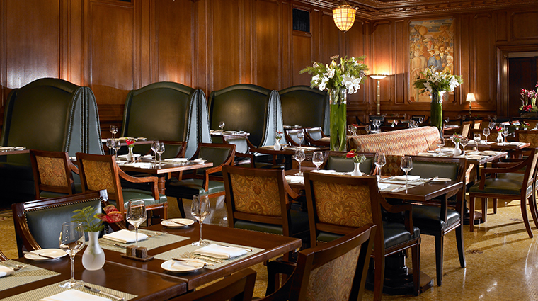 palace hotel a luxury collection hotel Pied Piper dining