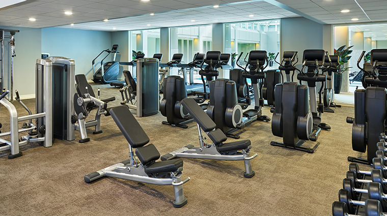 palace hotel a luxury collection hotel fitness center