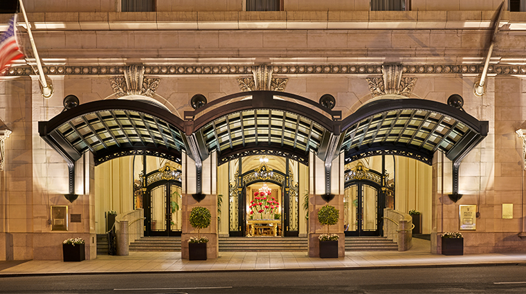 palace hotel a luxury collection hotel porte cochere