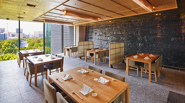 palace hotel tokyo Wadakura dining room