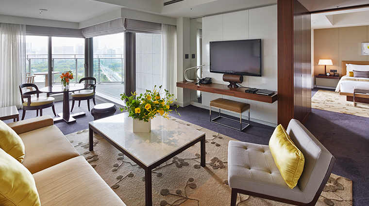 palace hotel tokyo executive suite living room