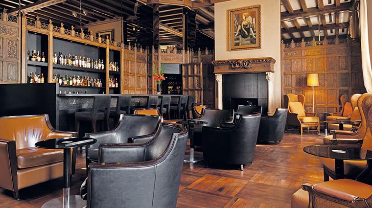 Palacio Duhau Hyatt bar seating