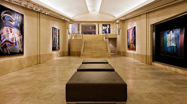 Palacio Duhau Hyatt hallway