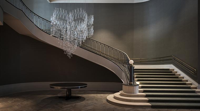 palacio tangara Cristal ballroom stairs
