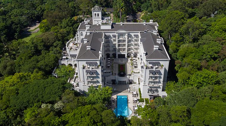 palacio tangara aerial