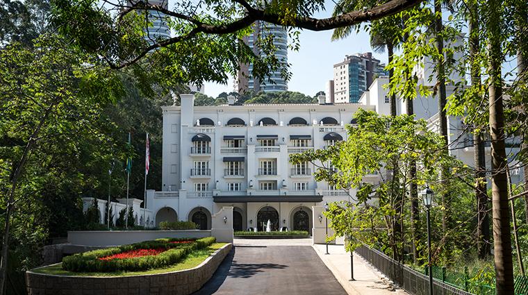 palacio tangara building facade