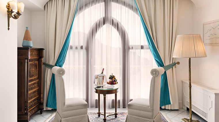palazzo avino deluxe sea view room