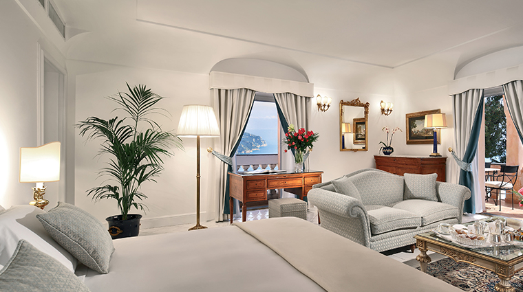 palazzo avino deluxe suite with terrace