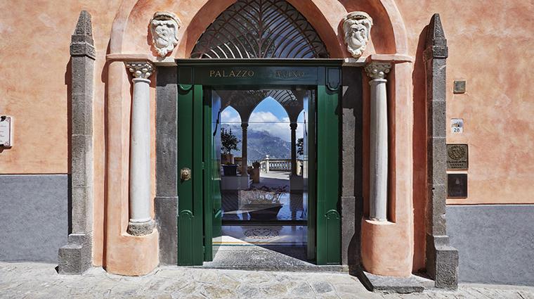 palazzo avino entrance door