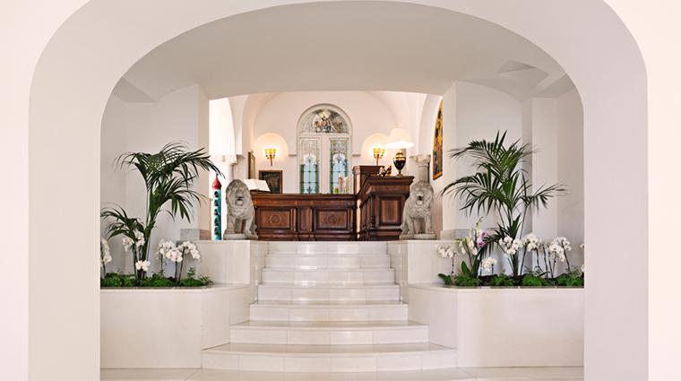 palazzo avino reception