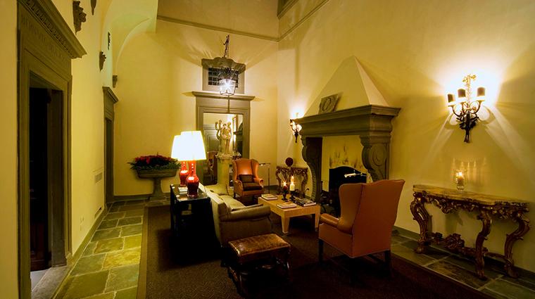 Palazzo Vecchietti hall