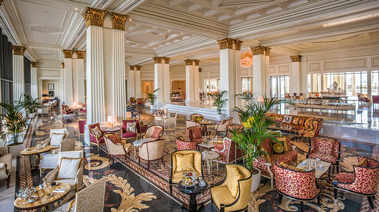 palazzo versace dubai mosaico lobby lounge