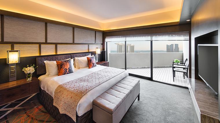 pan pacific singapore Harbour Suite