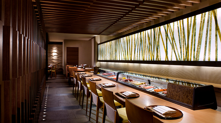 pan pacific singapore Keyaki sushi bar